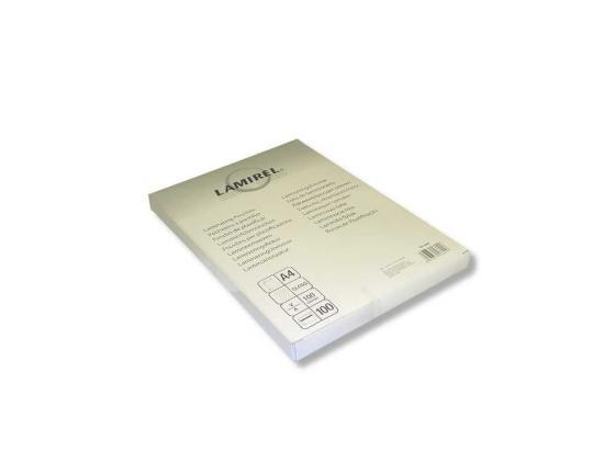 Пленка для ламинирования Fellowes Lamirel CRC-78658 А4 100мкм 100шт цены