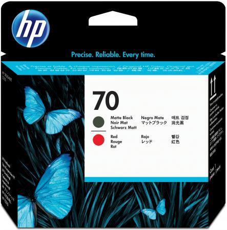 Картридж HP C9409A для DesignJet Z2100/Z3100 PS Pro B9100 матовый черный/красный 16000sh картридж hp c9410a для designjet z2100 z3100 ps pro b9100 глянцевый серый 16000sh