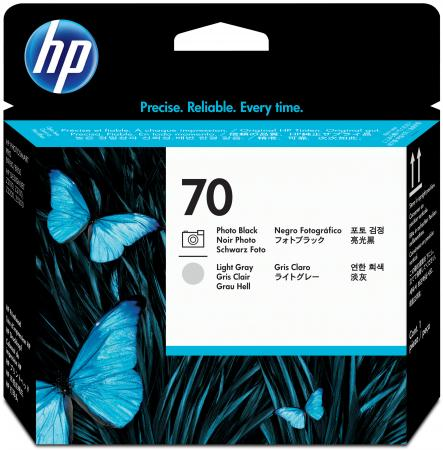 Картридж HP C9407A для DesignJet Z2100/Z3100 PS Pro B9100 черный/светло-серый q1251 60029 q1251 60096 designjet 5500 boot rom without ps printer plotter parts free shipping