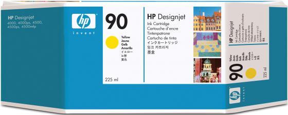 Картридж HP C5064A №90 для HP Designjet 4000 4000ps 4500 4500p желтый картридж hp pigment ink cartridge 70 black z2100 3100 3200 c9449a