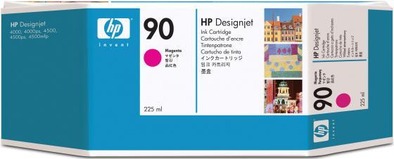 Картридж HP C5062A №90 для HP Designjet 4000 4000ps 4500 4500p пурпурный картридж hp b6y32a 711с для hp designjet z6200 775мл хроматический красный 3шт