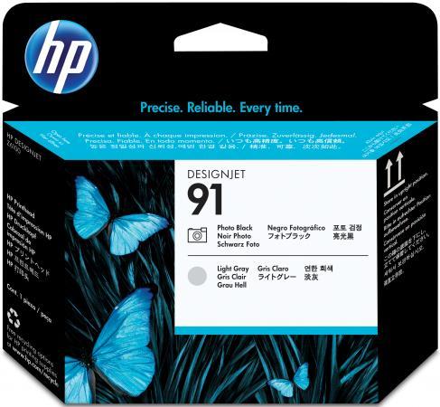 Фото - Картридж HP C9463A 91 для Designjet Z6100 черный/светло-серый тапочки мужские bris цвет серый btm70519 91 37p размер 43