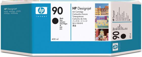 Картридж HP C5058A №90 для HP Designjet 40004000ps 4500 4500p черный картридж hp b6y32a 711с для hp designjet z6200 775мл хроматический красный 3шт
