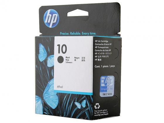 Фото - Картридж HP C4844A №10 черный для HP DJ 2000 2500C картридж струйный hp 728 f9k17a голубой 300мл для hp dj t730 t830