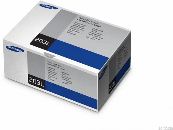 Тонер-Картридж Samsung MLT-D203L для SL-M3820D/M3820ND/M4020ND/M4020NX черный 5000стр sakura mlt d203e black тонер картридж для samsung sl m3820 m3870 m4020 m4070 m4072