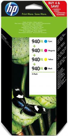 Картридж HP C2N93AE для HP Officejet Pro 8000 8500 цветной картридж струйный hp 940 c4902ae черный для hp oj pro 8000 8500