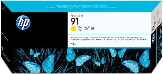 Картридж HP C9469A №91 для HP DJ Z6100 желтый картридж hp c9468a 91 для hp dj z6100 пурпурный