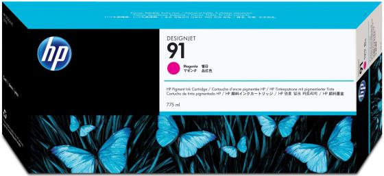 Картридж HP C9468A №91 для HP DJ Z6100 пурпурный тонер картридж hp ce743a пурпурный для hp clj cp5225 7300стр