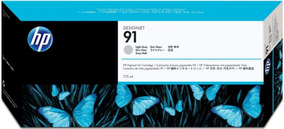 Картридж HP C9466A №91 для HP DJ Z6100 серый картридж hp c9468a 91 для hp dj z6100 пурпурный
