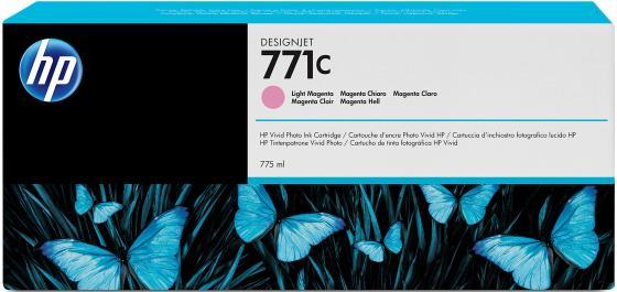 Картридж HP B6Y11A №771С для HP Designjet Z6200 светло-пурпурный картридж hp b6y11a 771с для hp designjet z6200 светло пурпурный