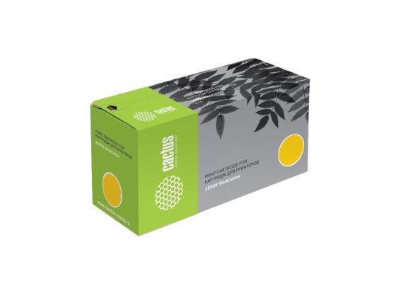 Картридж Cactus CS-CLT-Y407S для Samsung CLP-325 CLX-3185 желтый 1000стр картридж hi black clt y407s для samsung clp320 320n clx 3185 3185n fn желтый