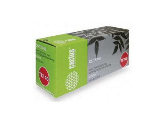 Картридж Cactus CS-TK140 для Kyocera FS-1100/1100N черный 4000стр profiline pl tk 140 для kyocera fs 1100 1100n 4000стр