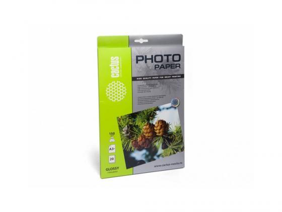 Бумага Cactus CS-GA315020 А3 150г/кв.м глянцевая 20л
