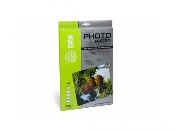 Бумага Cactus CS-GA318050 А3 180г/кв.м глянцевая 50л