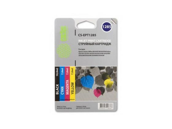 Картридж CACTUS CS-EPT0735 для Epson Stylus С79 C110 СХ3900 CX4900 цветной 250стр 4шт