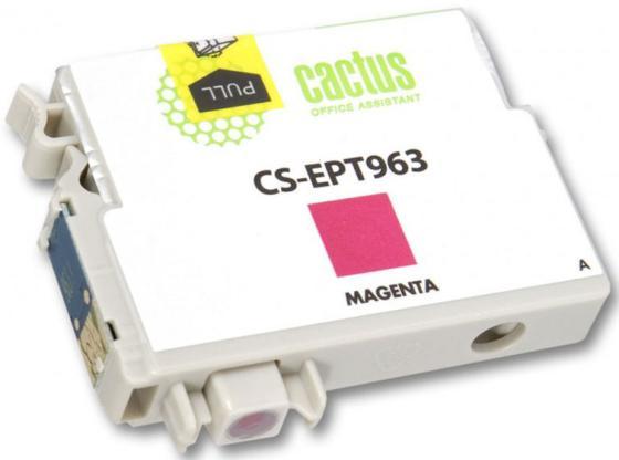 все цены на  Картридж Cactus CS-EPT963 для Epson Stylus Photo R2880 пурпурный  онлайн