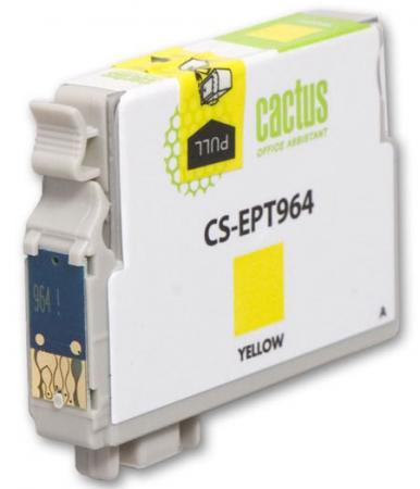 все цены на  Картридж Cactus CS-EPT964 для Epson Stylus Photo R2880 желтый  онлайн