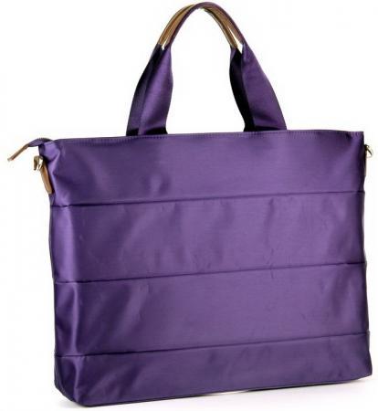 Сумка для ноутбука 15 PORTCASE KCB-74 женская фиолетовый полиэстр 43x32x8см portcase kcb 73 сумка для ноутбука 15 6