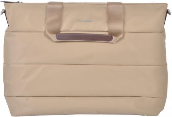 Сумка для ноутбука 15.6 PORTCASE KCB-73 полиэстер бежевый portcase kcb 73 сумка для ноутбука 15 6