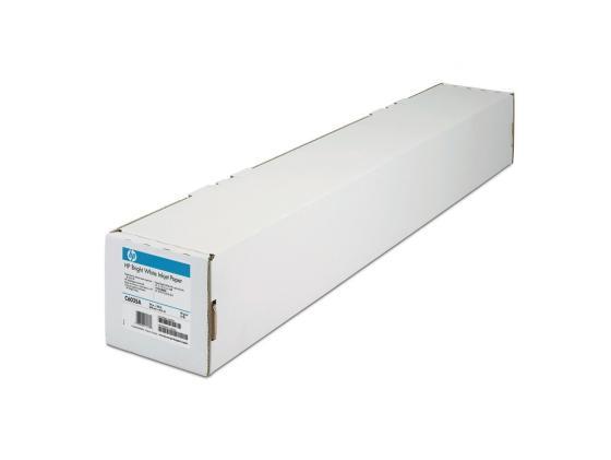 Бумага HP 23.39 594мм х 45.7м 90г/м2 рулон с покрытием для струйной печати ярко-белая Q1445A