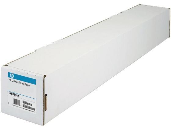 Бумага HP 841мм x 91.4м 80г/м2 рулон Q8005A бумага hp 80г м2 k6b87a