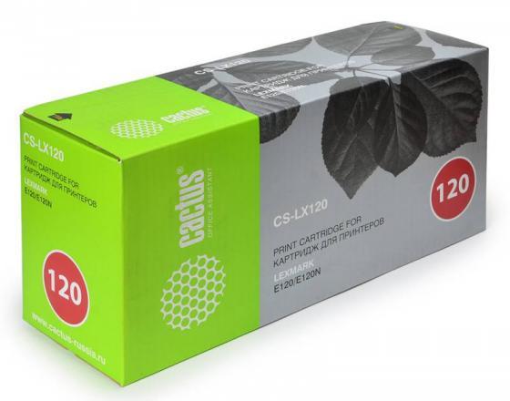 Картридж Cactus CS-LX120 для Lexmark E120N черный 2000стр