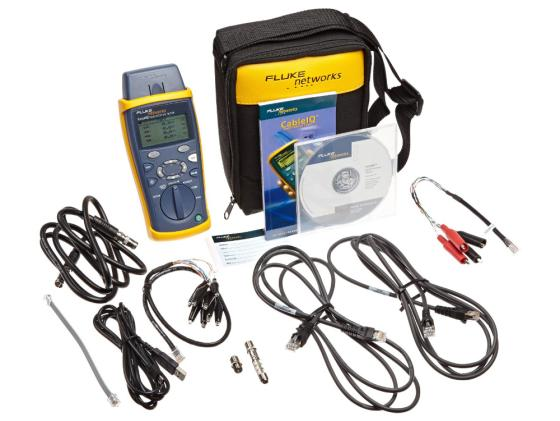 Тестер кабеля Fluke CIQ-KRQ CableIQ Qualification Tester for Residential тестер fluke t5 1000