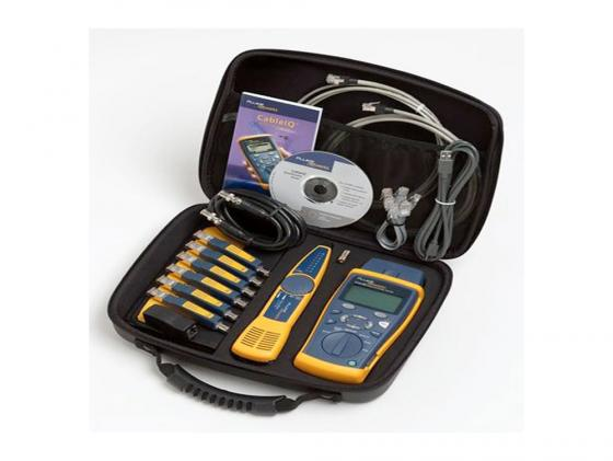 Тестер кабеля Fluke CIQ-KIT CableIQ Advanced IT Kit CableIQ mainframe 238080 тестер fluke t5 1000