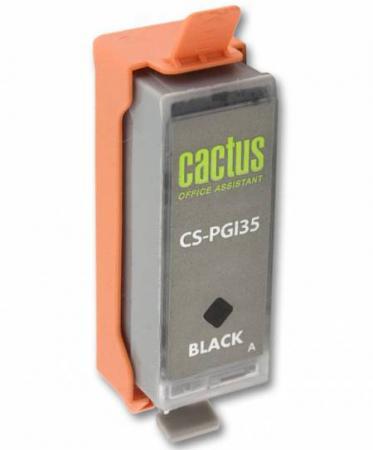 купить Картридж CACTUS CS-PGI35 для Canon iP100 черный 200стр недорого