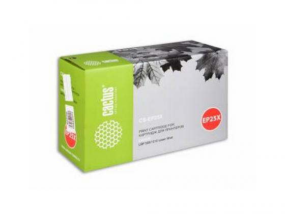 Картридж Cactus CS-EP25X для Canon LBP 558 1210 черный 3500стр high quality black laser toner powder for canon epw ep 72 ep 72 lbp 930 lbp 2460 lbp 950 lbp950 1kg bag printer