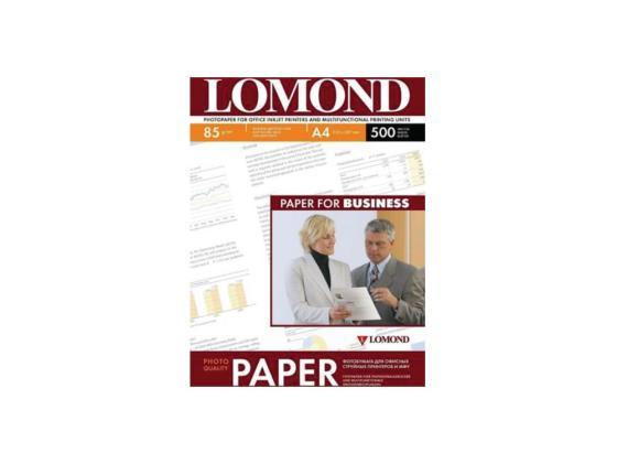 Фото - Фотобумага Lomond А4 85г/м2 двухсторонняя матовая 500л 102134 фотобумага