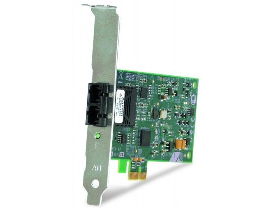 Сетевой адаптер Allied Telesis AT-2711FX/SC-001 100Mbps Fast Ethernet PCI-Express Fiber Adapter Card SC