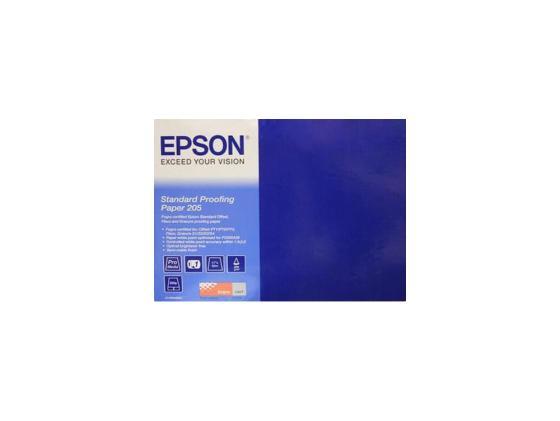 Фотобумага Epson 17х50м 205г/м2 матовая C13S045007 фотобумага epson c13s041893