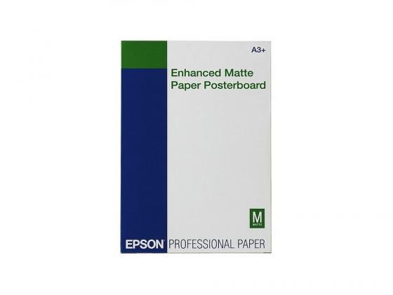 Фотобумага Epson Velvet FineArt Paper A3 260г/м2 матовая 20л C13S041637 epson фотобумага c13s041340