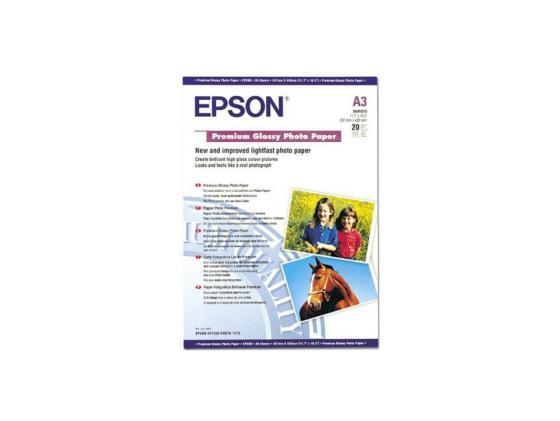 Фотобумага Epson A3+ 250г/м2 глянцевая 20л C13S041316 фотобумага epson c13s041316 a3 250г м2 глянцевая 20 листов
