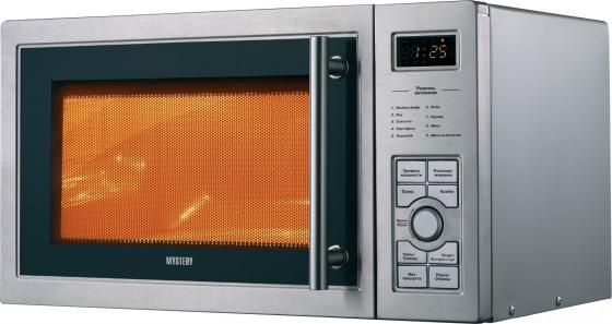 Микроволновая печь Mystery MMW-2315G 23л гриль 900Вт серый mystery mmw 2817gcm