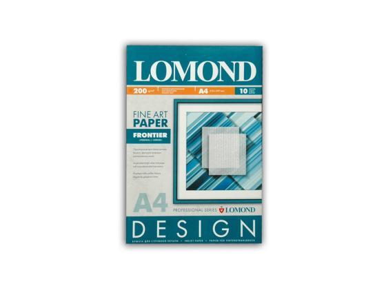 Фото - Фотобумага Lomond A4 200г/м2 матовая дизайнерская Гребенка 10л 0927041 фотобумага lomond 914x12 3x76 290г м2 матовая 1211133
