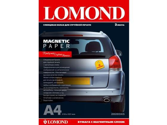 Фото - Фотобумага Lomond A3 660г/м2 глянцевая с магнитным слоем 2л 2020347 фотобумага lomond 914x30x50 8 190г м2 суперглянцевая 1201032