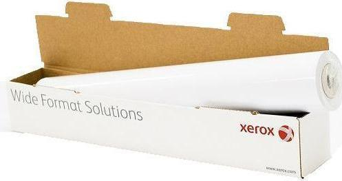 Бумага для плоттера Xerox 1067мм х 40м 120г/м2 рулон для струйной печати 450L90117