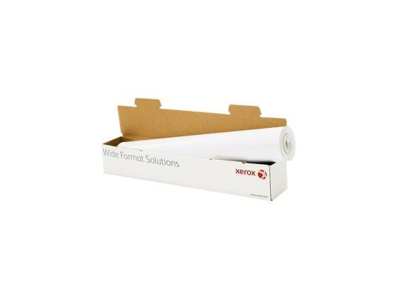 Бумага для плоттера Xerox 610мм х 50м 80г/м2 рулон для струйной печати 450L90504 бумага для плоттера xerox 1067мм х 40м 120г м2 рулон для струйной печати 450l90117