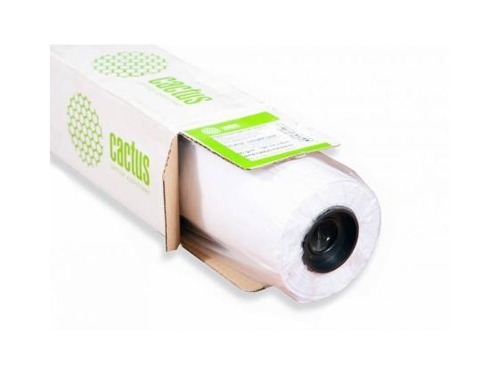Бумага для плоттера Cactus CS-PC120-106730 42 1067мм х 30м 120г/м2 с покрытием цена