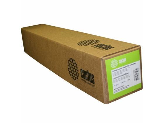 Бумага инженерная Cactus CS-LFP80-840175 А0 841мм х 175м 80г/м2 без покрытия бумага подарочная феникс турецкий узор 100 70см 80г м2