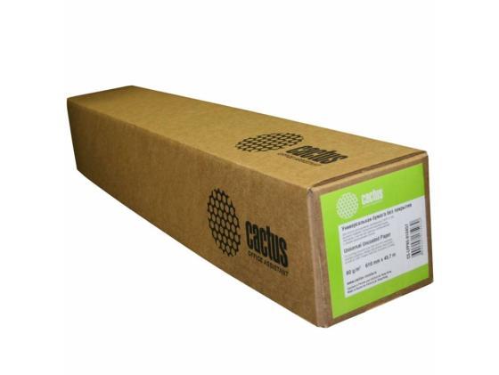 Бумага инженерная Cactus CS-LFP80-914175 А0+ 914мм х 175м 80г/м2 без покрытия бумага подарочная феникс турецкий узор 100 70см 80г м2