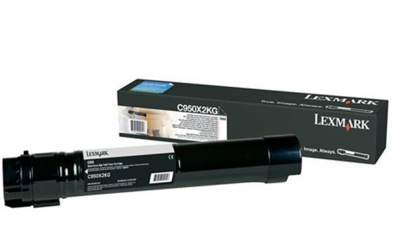 Картридж Lexmark C950X2KG для C950 черный