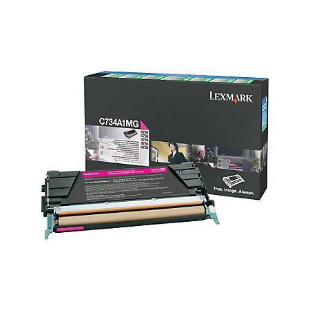Картридж Lexmark C736H1MG для C73X/X73X пурпурный 10000стр картридж lexmark c736h1mg для c73x x73x пурпурный 10000стр