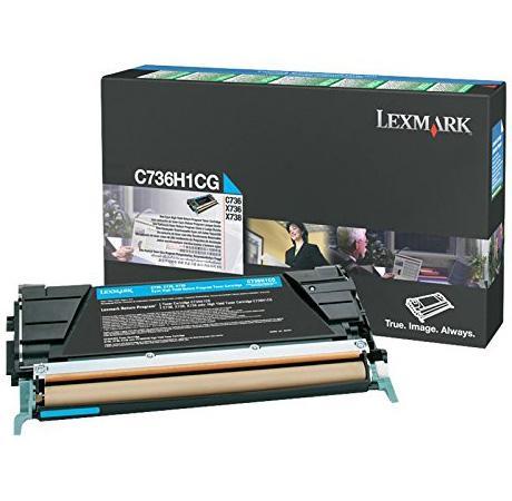 Картридж Lexmark C736H1CG для C73X/X73X голубой 10000стр картридж lexmark c736h1mg для c73x x73x пурпурный 10000стр