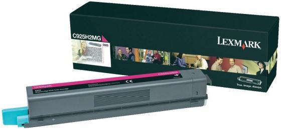 Картридж Lexmark C930H2MG для С930 фиолетовый 24000стр картридж lexmark 70c8hke для lexmark cs510 cs410 cs310 черный 4000стр