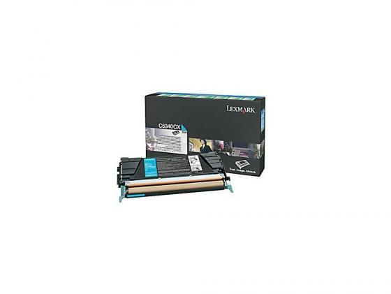 Картридж Lexmark C5340CX для C534 голубой 7000стр lexmark lx 12a1980