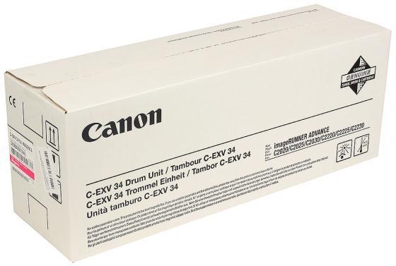Фотобарабан Canon C-EXV34M для iRC2020L/2030L пурпурный тонер canon c exv34m 3784b002