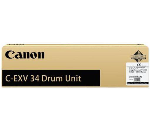 Фотобарабан CanonС-ЕХV34DU Black для iRC2020L/2030L черный 3786В003 AA цена